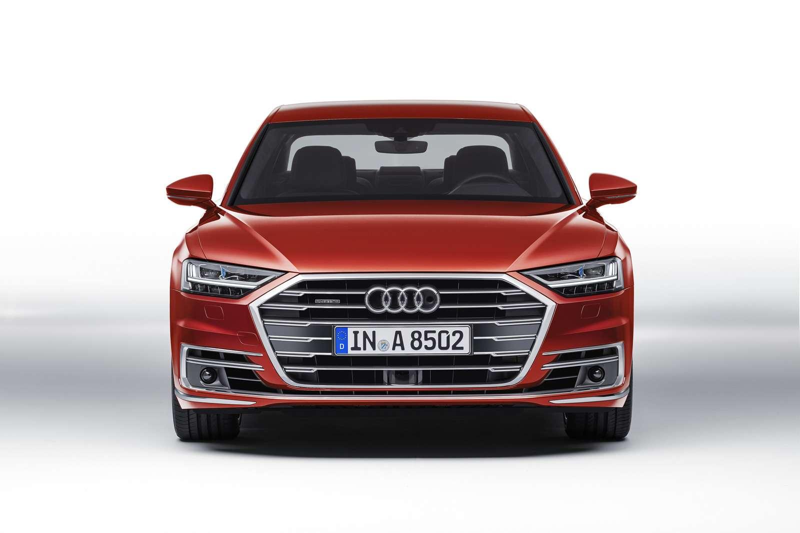 Технорывок Audi— премьера А8— фото 773537