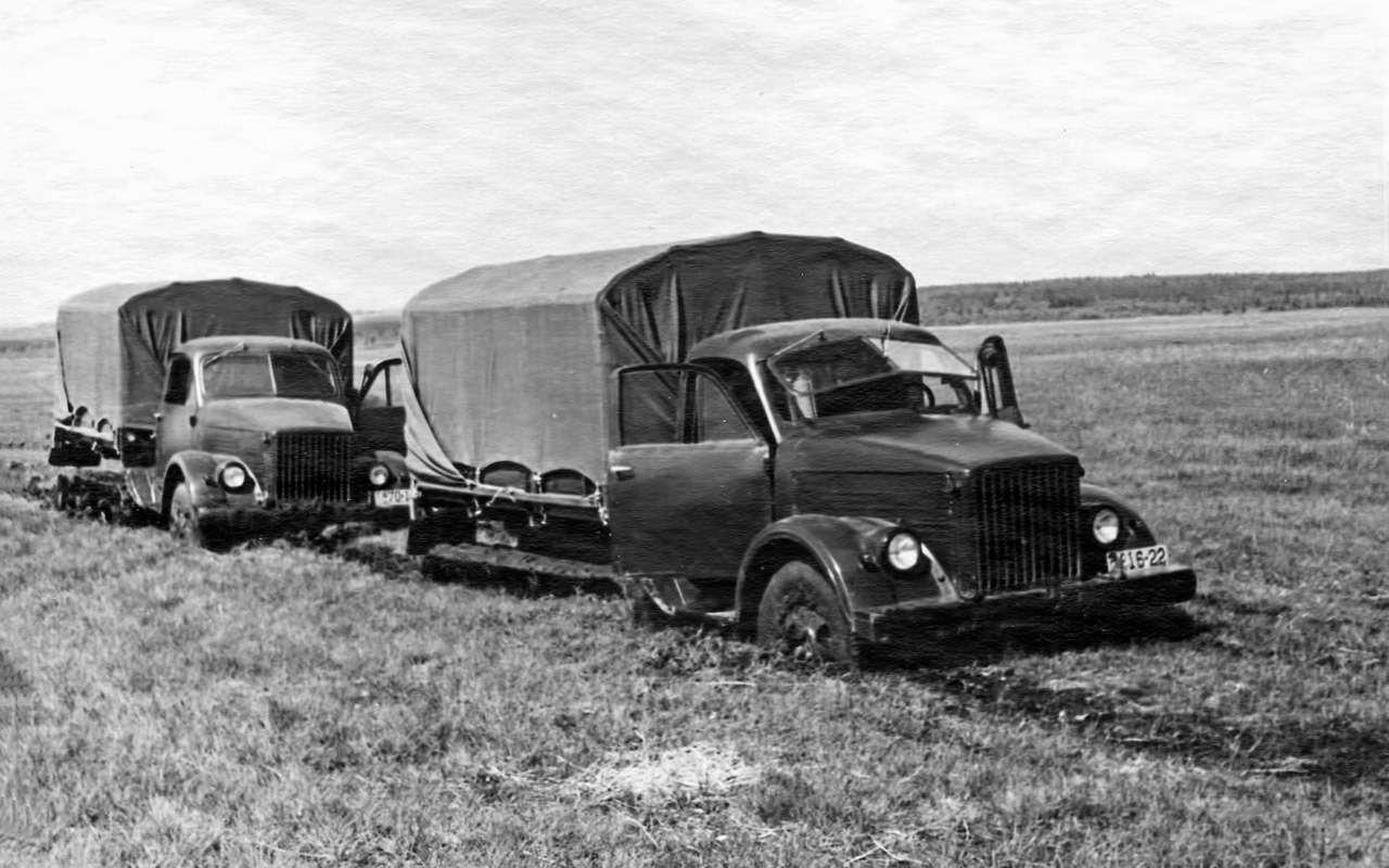 Свой парень: ретротест грузовика  ГАЗ-51— фото 845825
