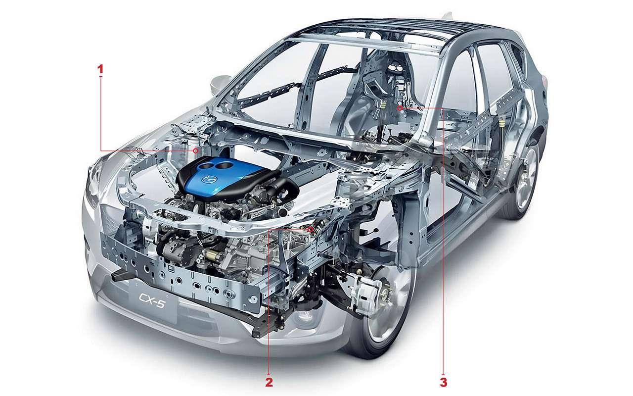 Mazda CX-5с пробегом: все проблемы кроссовера— фото 950125