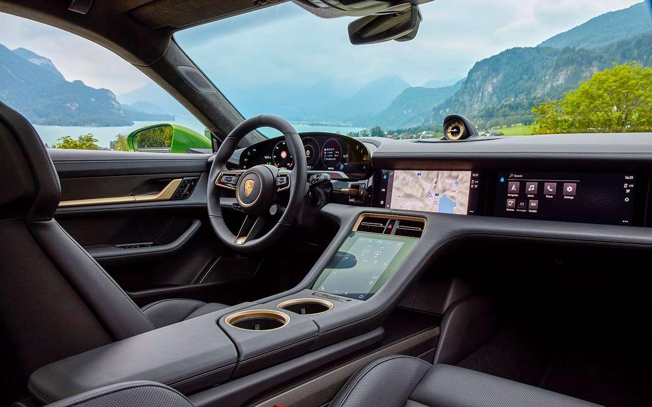 Самый мощный изсерийных Porsche: первый тест-драйв— фото 1011350