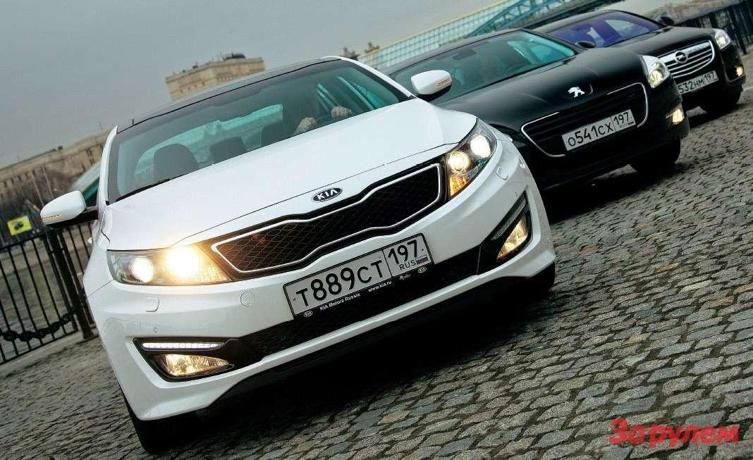 Opel Insignia, Kia Optima, Peugeot 508
