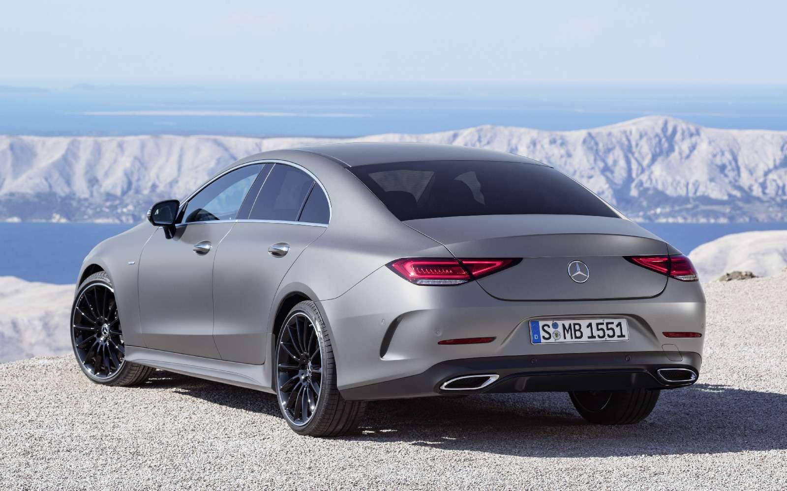 Новый Mercedes-Benz CLS: еще больше чувственности— фото 822045