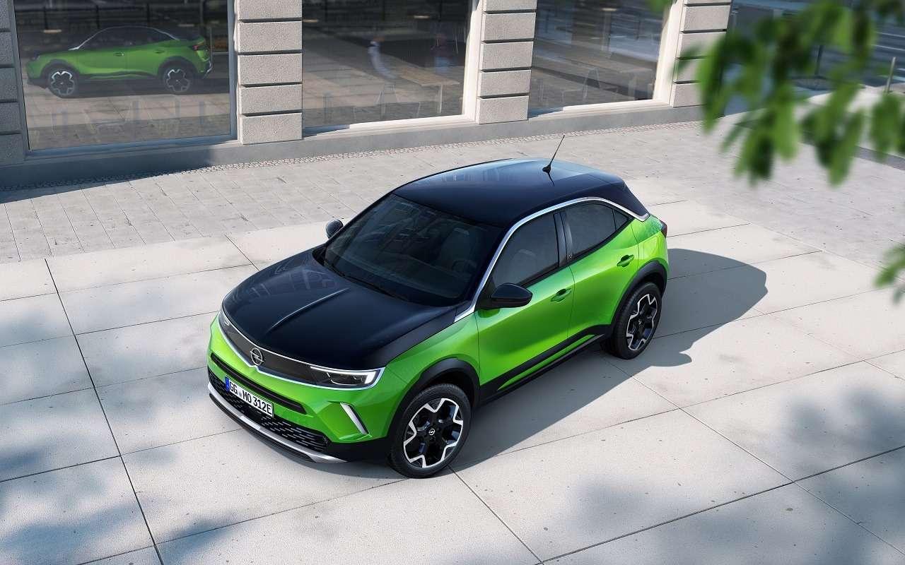 Opel представил новое поколение Mokka— фото 1141662