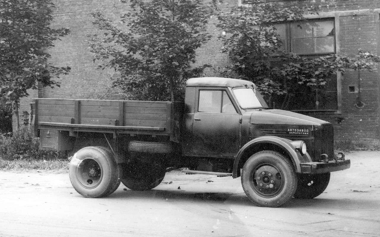 Самый популярный грузовик СССР— такого ГАЗ-51вы не видели— фото 961758