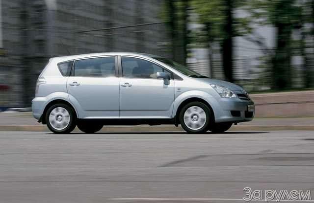 Toyota Corolla Verso. Такая нужна самому!— фото 57102