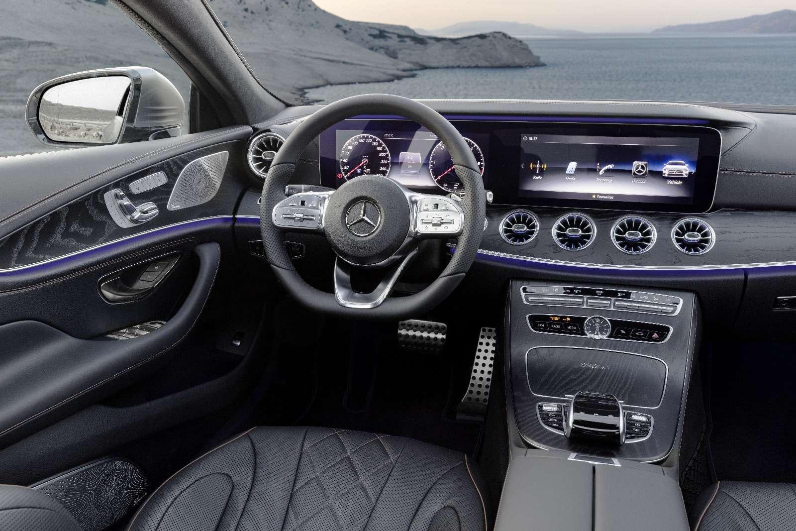 Новый Mercedes-Benz CLS: еще больше чувственности— фото 822037