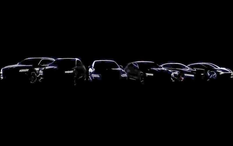 Genesisто ли показал,то линет кроссовер GV70и универсал G70