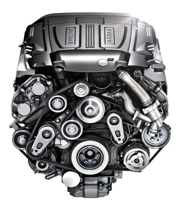 New Jaguar 3.0-liter V6 engine
