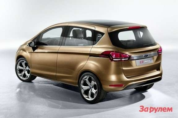 Ford B-Max Concept side-rear view
