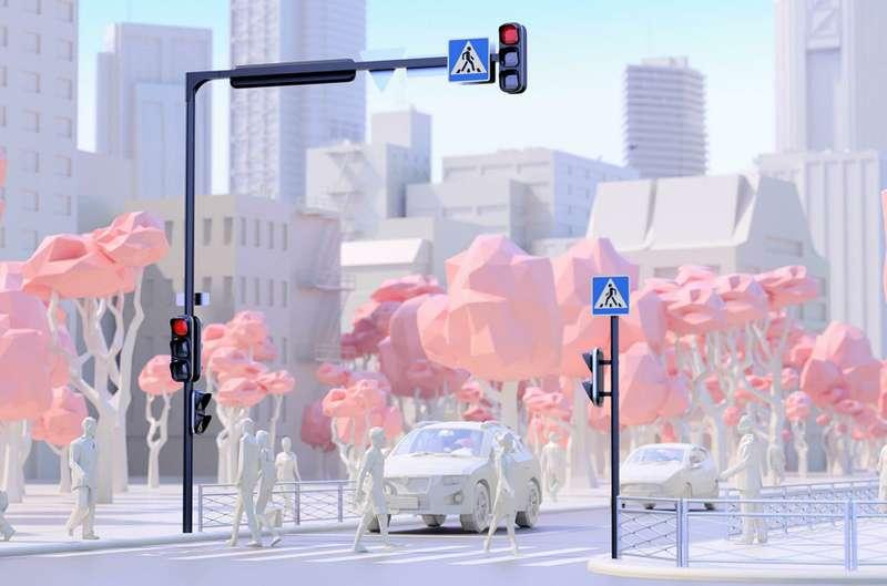 Эксперимент Студии Артемия Лебедева: оформление городских перекрестков