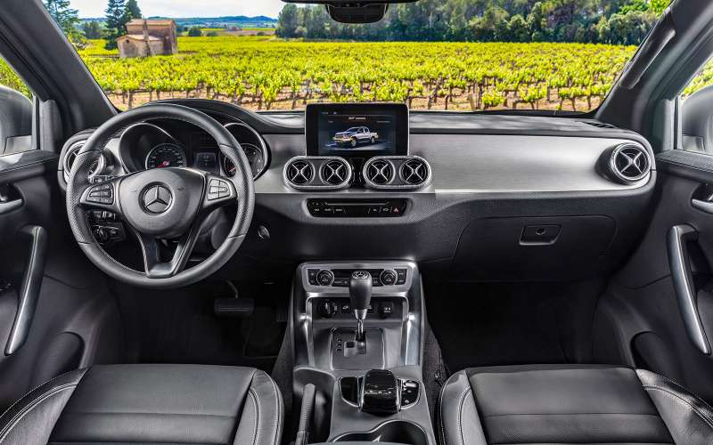 Mercedes-Benz X-класса— тест-драйв ЗР