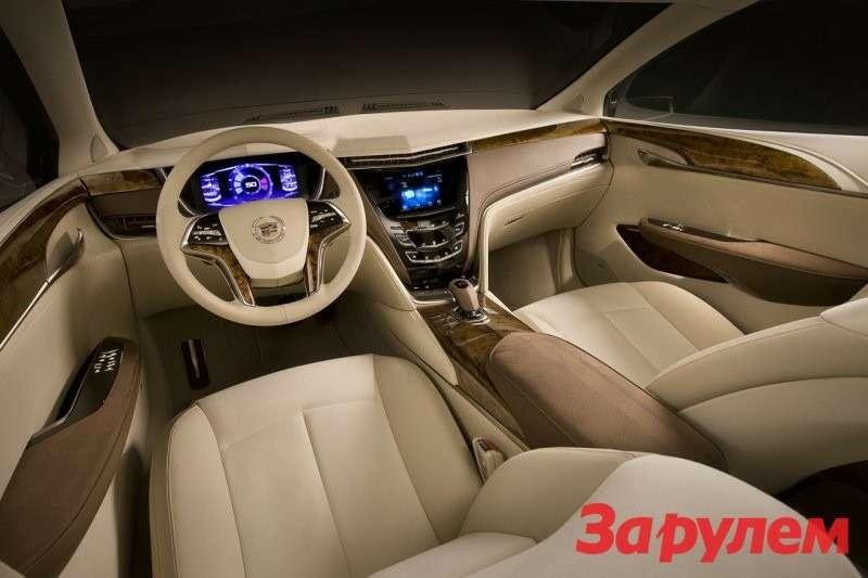 Cadillac XTS Platinum ConceptИнтерьер