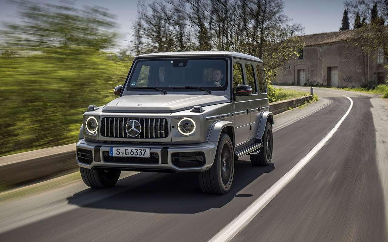 Новый Mercedes-Benz G-класса: первый тест-драйв— фото 867933