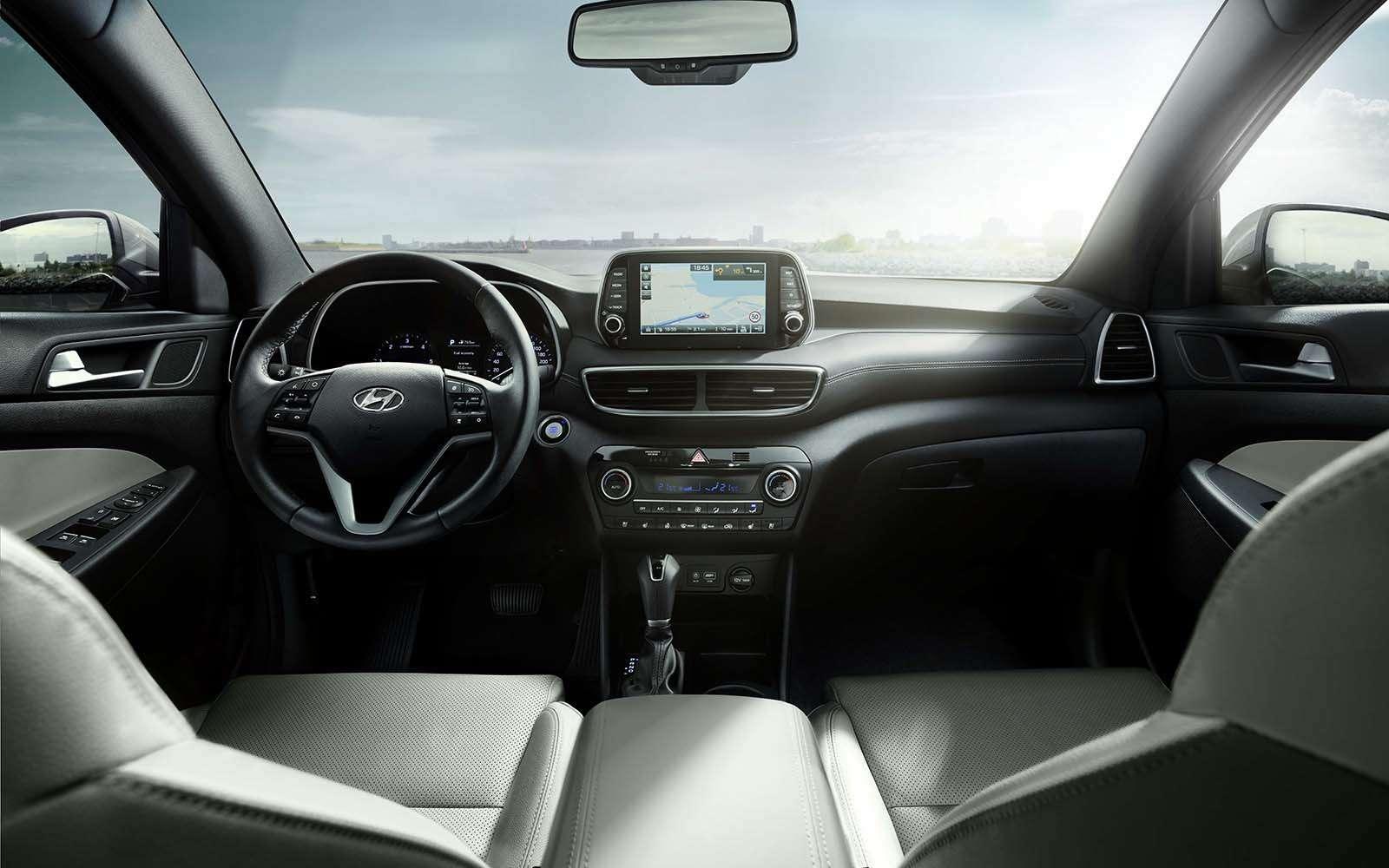 Hyundai объявил рублевые цены наобновленный Tucson— фото 891833