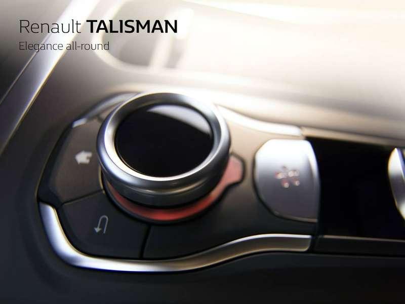 Интерьер 2016 Renault Talisman