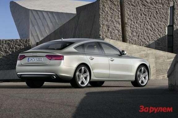 Audi A5Sportback side-rear view