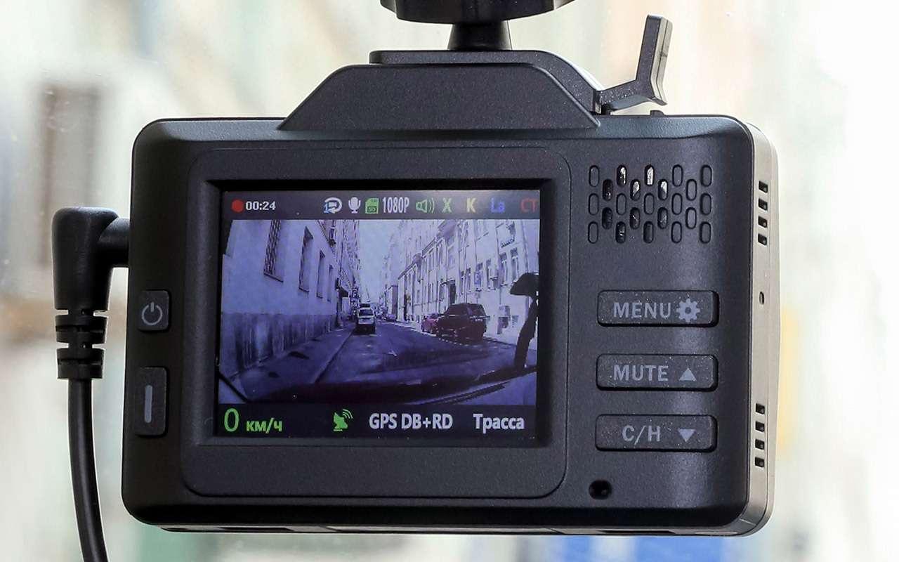 Видеорегистраторы срадар-детекторами «3в 1»: выбрали лучший— фото 1269492