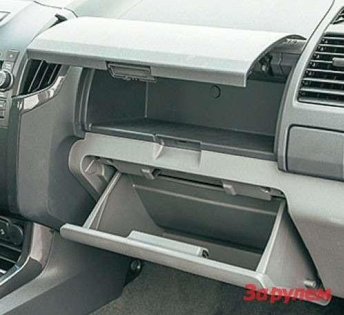 Chevrolet TrailBlazer бардачок