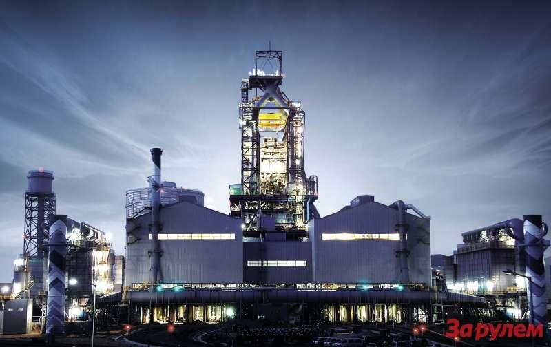 Завод Hyundai Steel