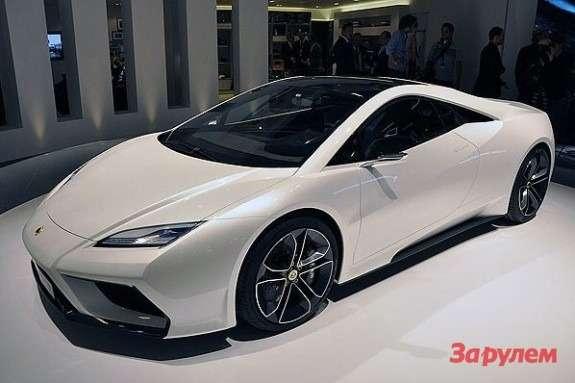 Lotus Elan side-front view