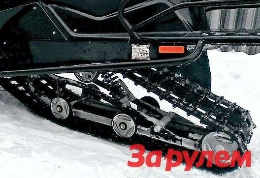 Гусеница снегохода