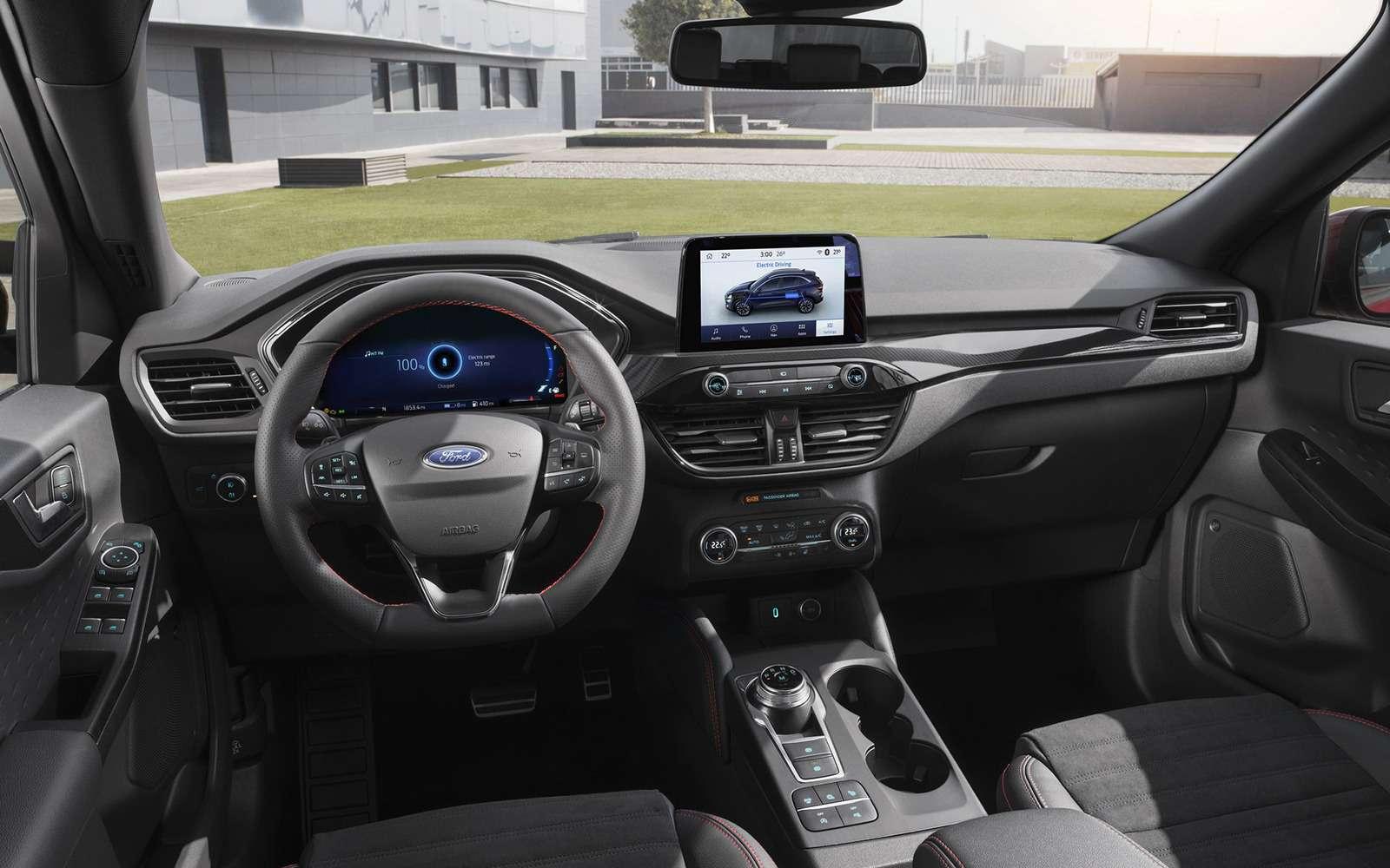 Ford показал новую Kuga. Красивая, мощная, экономичная. Недлянас— фото 962799