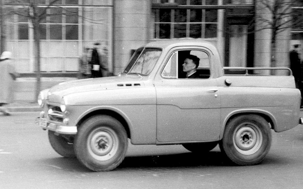 15советских пикапов, которые отнас скрывали— фото 962699