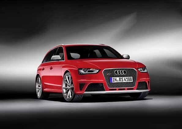 Audi RS4Avant/Standaufnahme