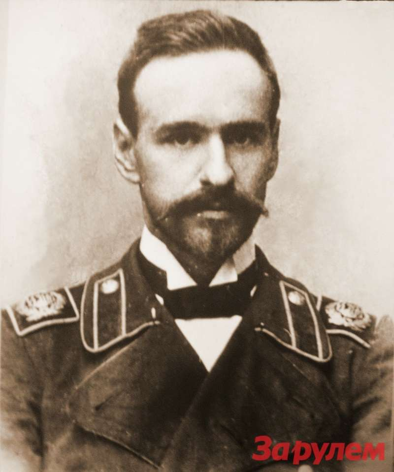 Студент Николай Брилинг, 1899г. Фото изархива МВТУ, предоставлено Андреем Крюковским