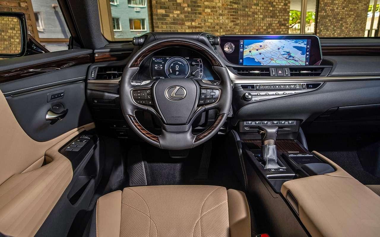 Новый Lexus ES— тест самых «вкусных» модификаций— фото 892658