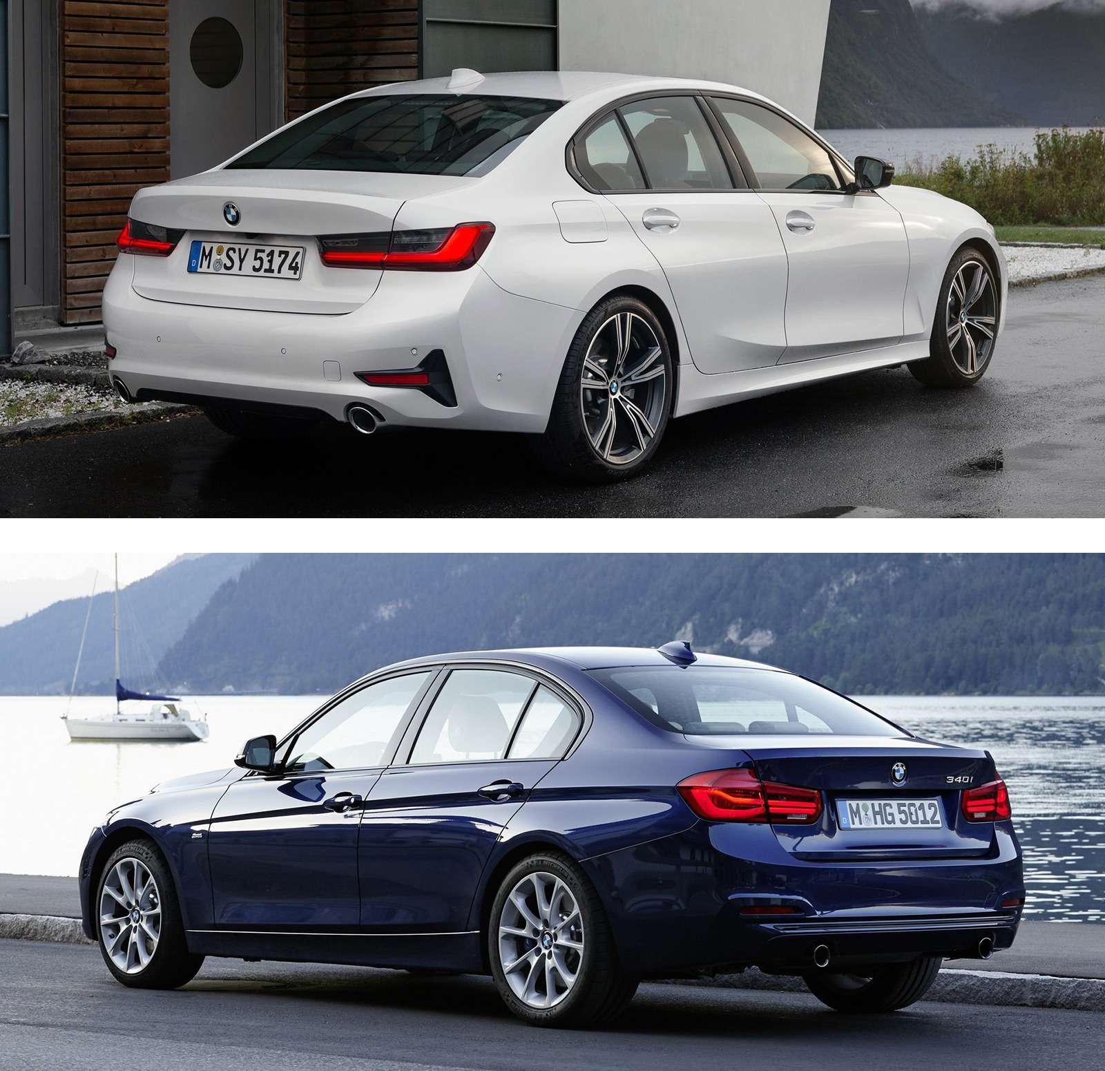 Новая BMW 3-й серии против старой: какая красивее?— фото 912574