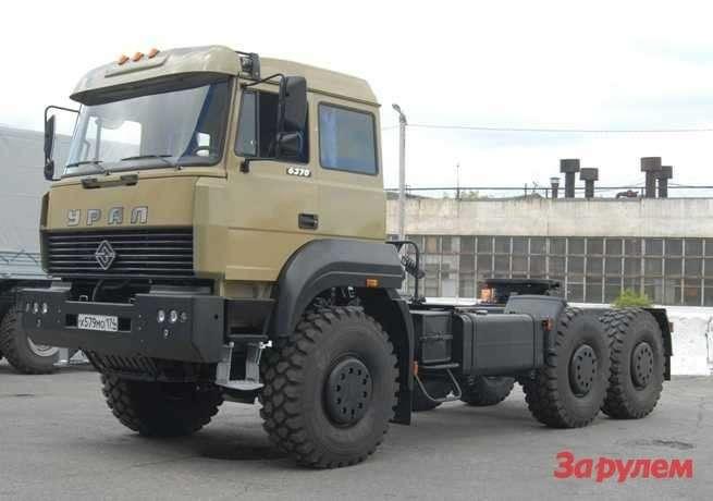 Седельный тягач Урал-63704