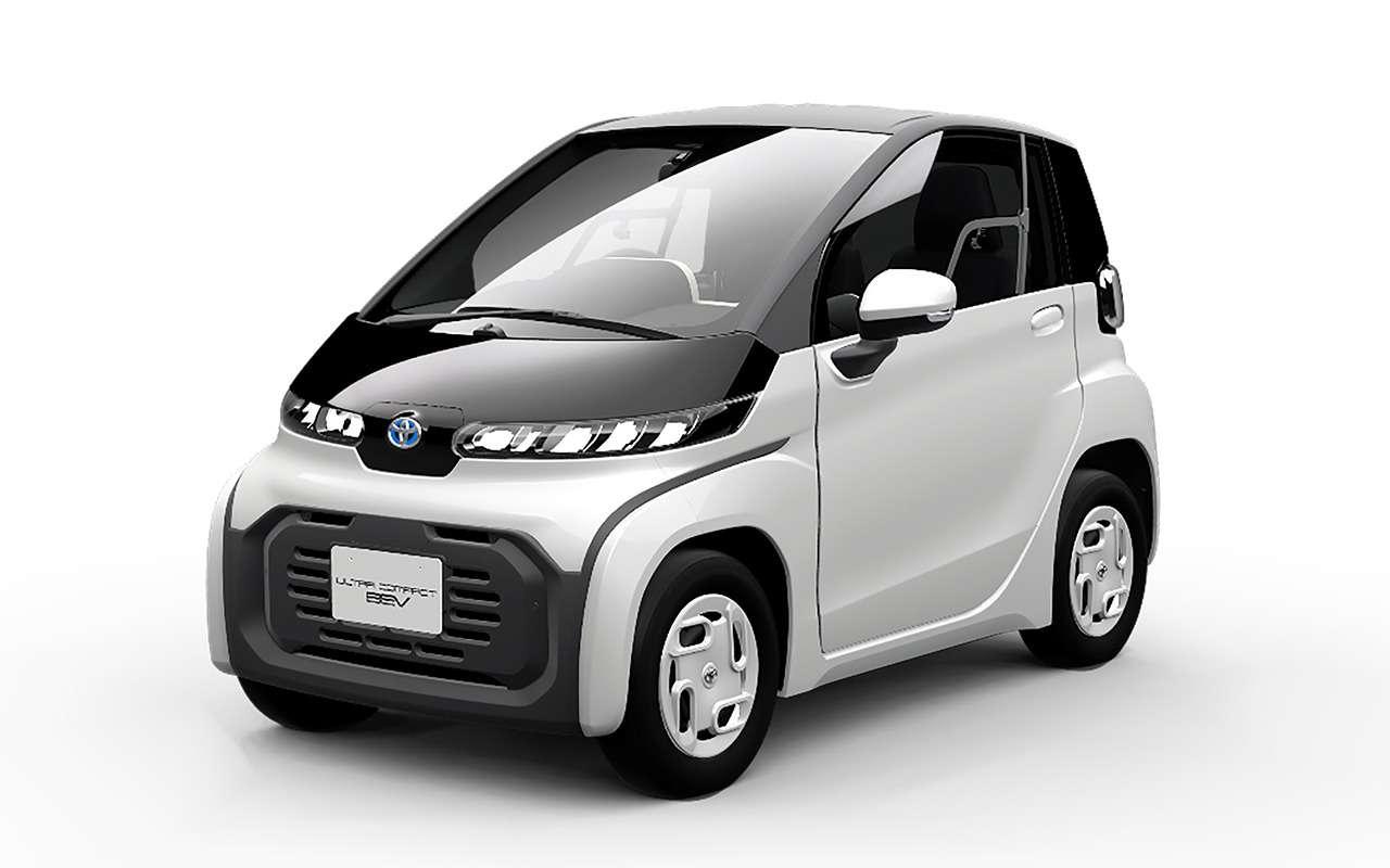 Toyota представит в Токио автомобиль для пожилых
