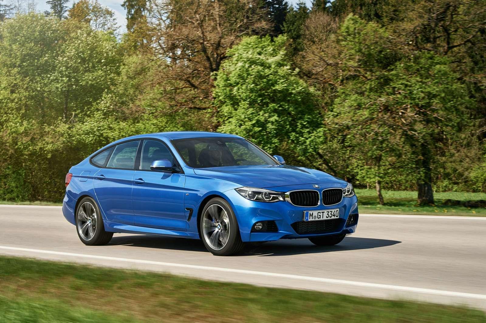 Обновленный BMW 3-й серии GT: урок эффективного менеджмента— фото 593867