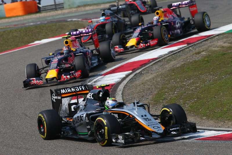 Motor Racing— Formula One World Championship— Chinese Grand Prix— Race Day— Shanghai, China