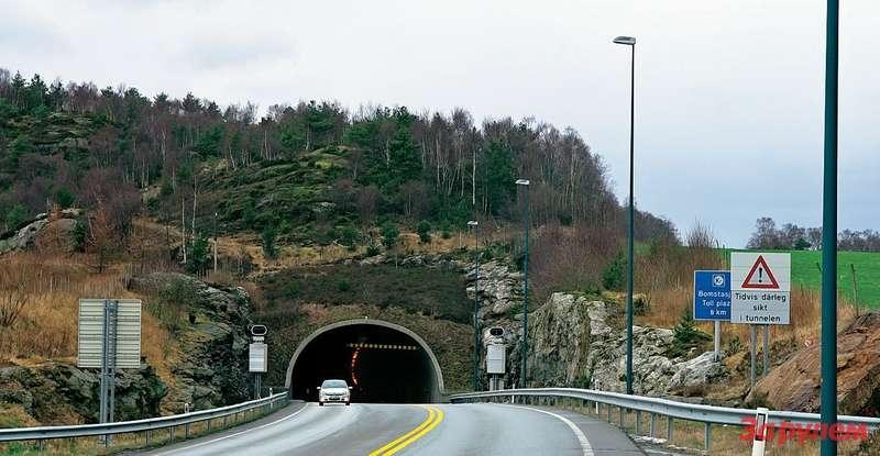 Эйксуннский туннель вНорвегии