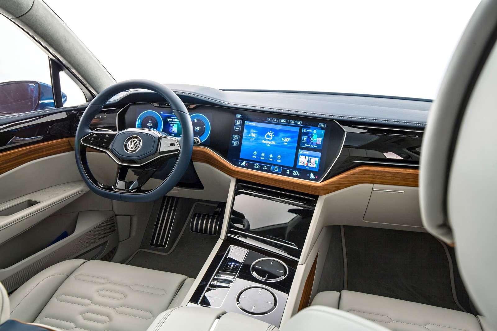Интерьер Volkswagen T‑Prime Concept GTE