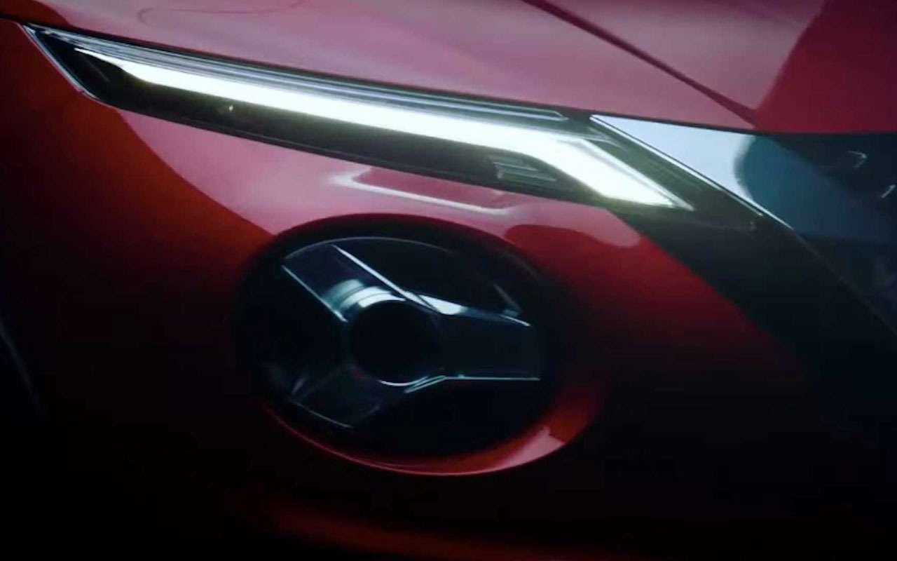 Новое видео нового Nissan Juke— только не моргай!— фото 994743