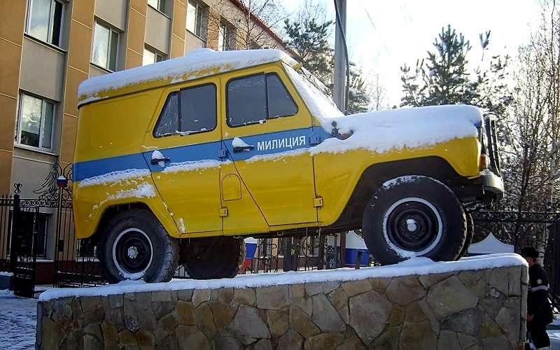 Автозак УАЗ-469АП