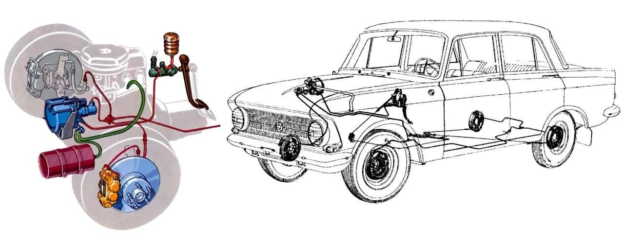 Fiat? BMW? Opel? — с чего срисовали Москвич-408/412 — фото 1083229