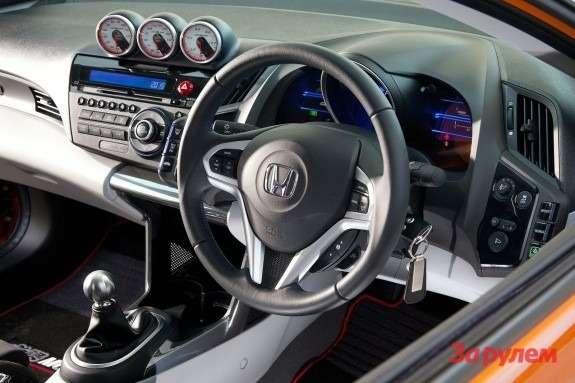 Honda CR-Z Mugen Concept inside