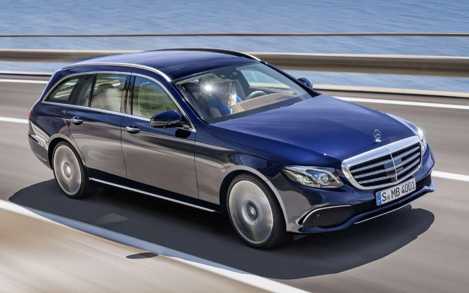 Новый универсал Mercedes-Benz Е-класса: шестой, юбилейный— фото 595677