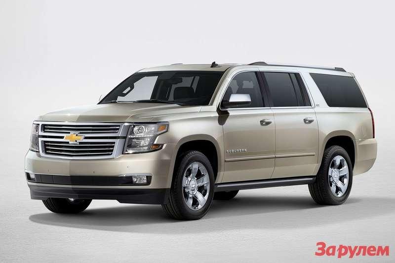 Новый Chevrolet Suburban