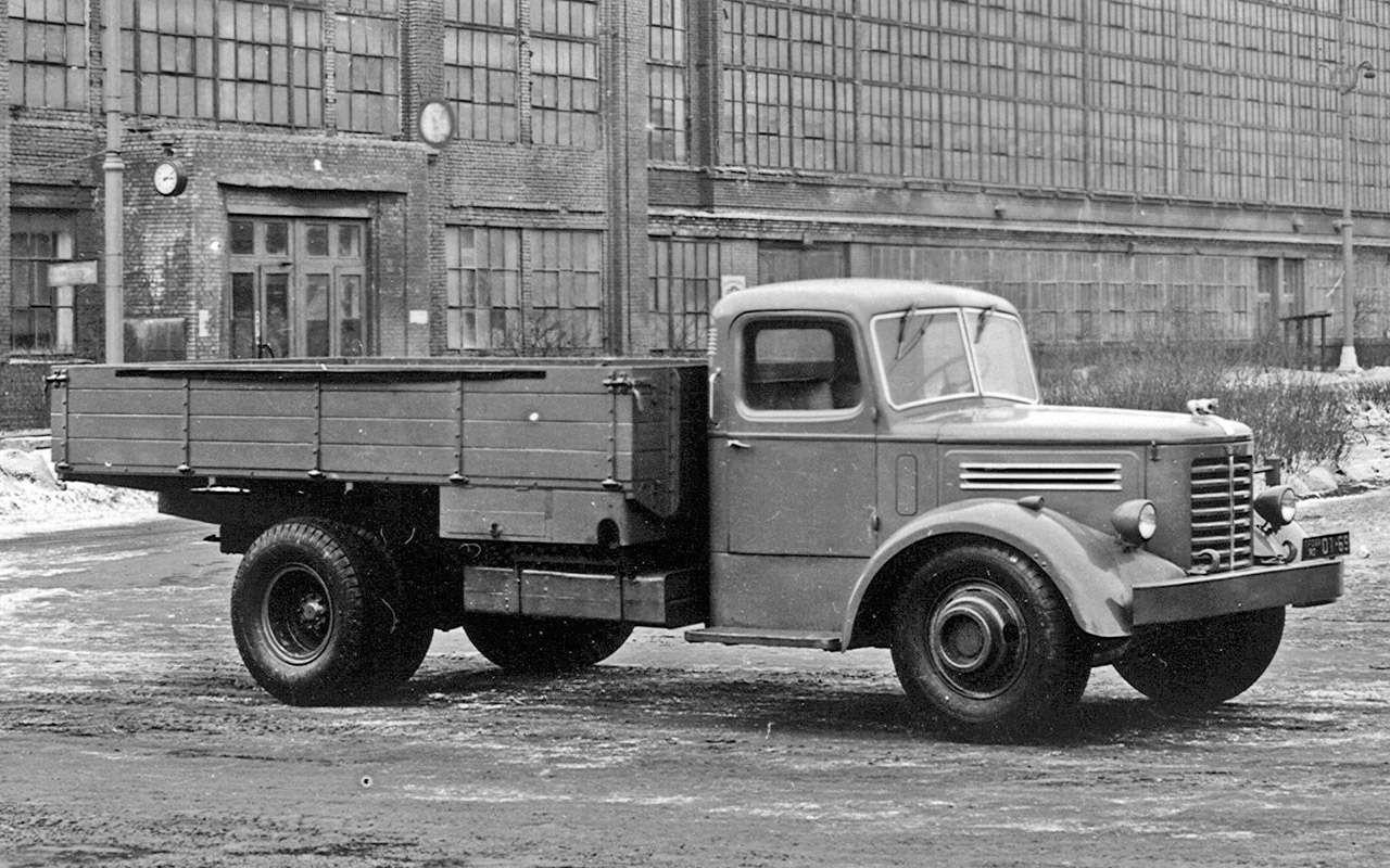 Первый советский дизельный грузовик ЯАЗ-200— родом изАмерики— фото 1255810