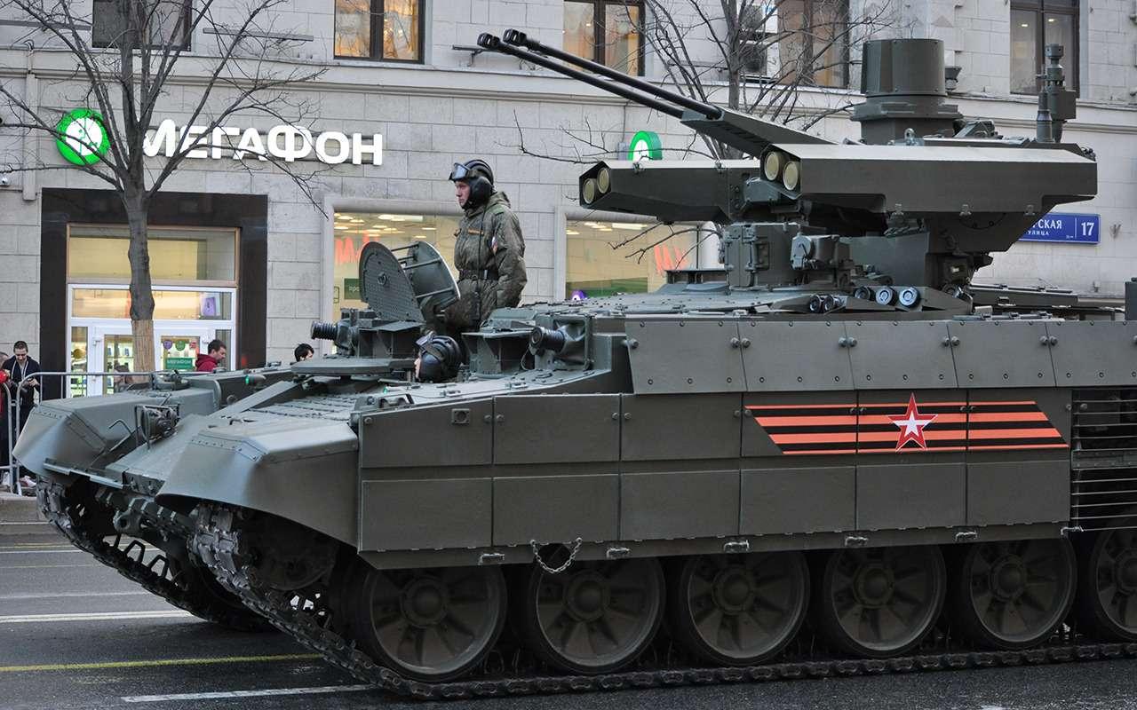 Танк дляподдержки танков— аналогов вмире снова нет!— фото 891775