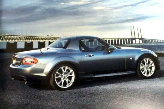 Mazda MX-5NC3 side-rear view