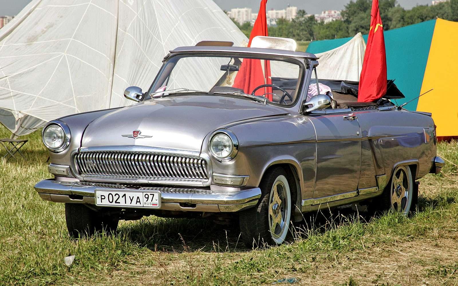 Волга ГАЗ-21 кабриолет