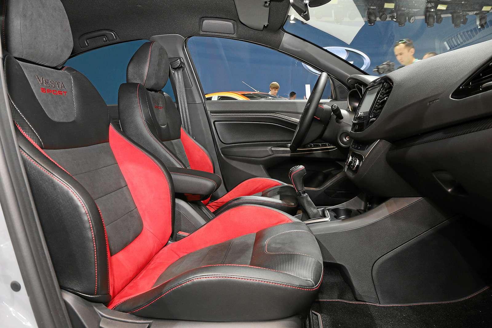 Самая крутая Lada Vesta. Почему она будет стоить миллион?— фото 901630