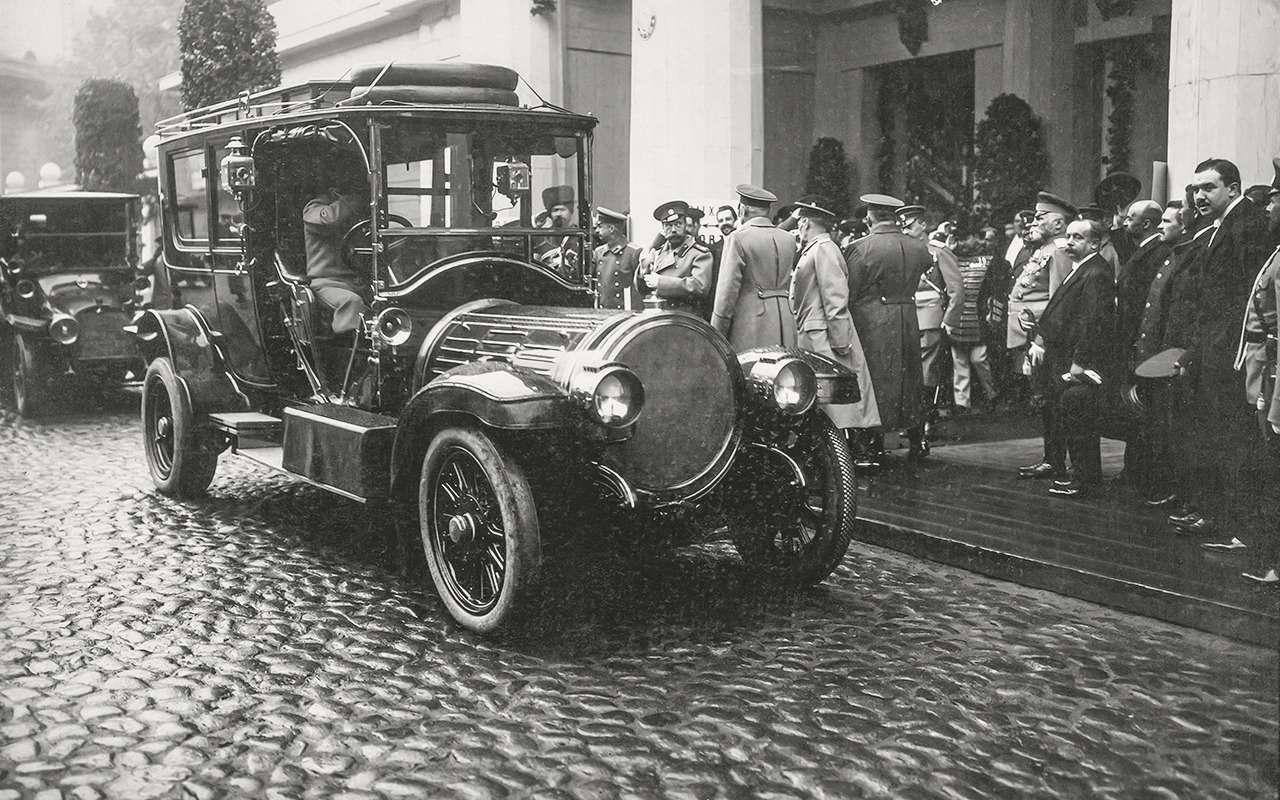 «Машину Его Величеству!»: любимый автомобиль последнего императора— фото 1219627