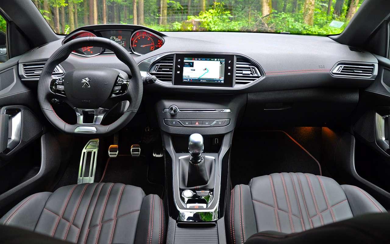Время дляреванша— обновленный Peugeot 308на тест-драйве— фото 790816